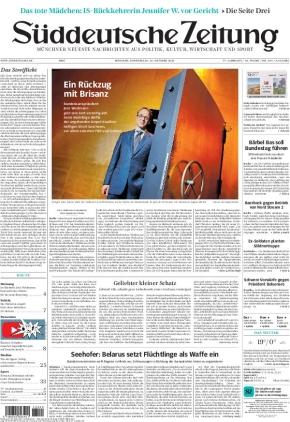 Süddeutsche Zeitung (21.10.2021)