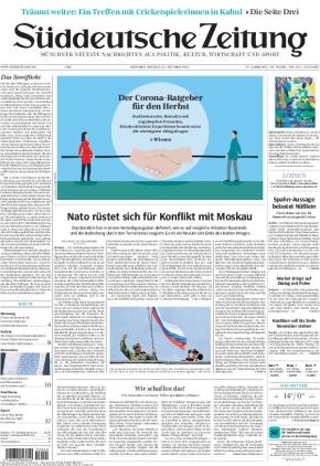 Süddeutsche Zeitung (22.10.2021)
