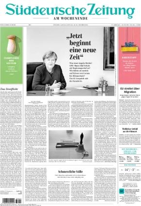 Süddeutsche Zeitung (23.10.2021)