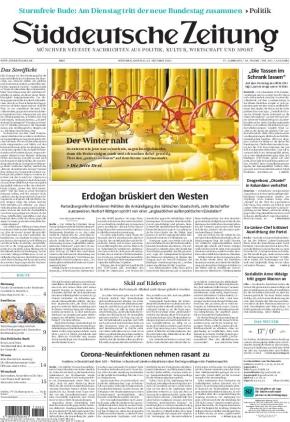 Süddeutsche Zeitung (25.10.2021)