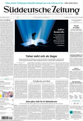 Süddeutsche Zeitung (26.10.2021)
