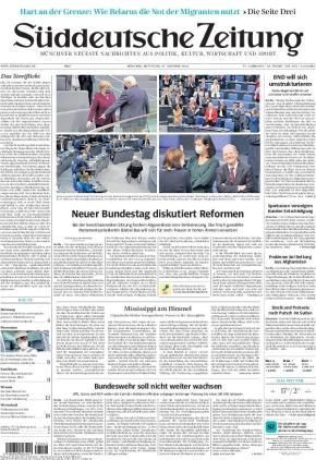 Süddeutsche Zeitung (27.10.2021)