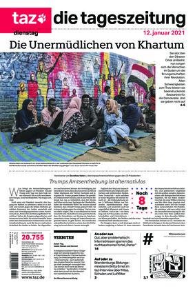 taz.die tageszeitung (12.01.2021)