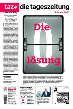 taz.die tageszeitung (14.01.2021)
