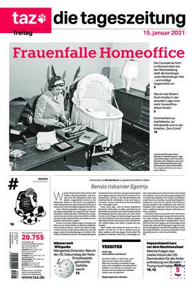 taz.die tageszeitung (15.01.2021)