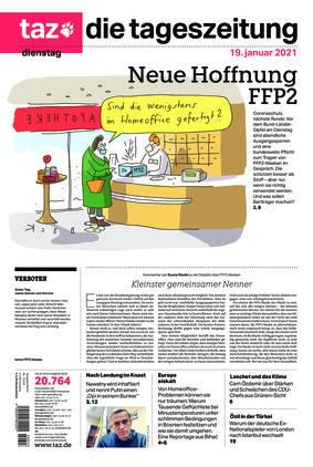 taz.die tageszeitung (19.01.2021)