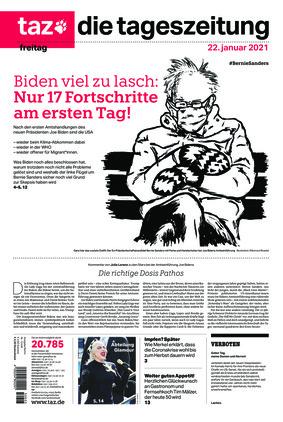 taz.die tageszeitung (22.01.2021)