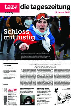 taz.die tageszeitung (25.01.2021)