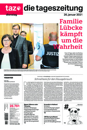 taz.die tageszeitung (26.01.2021)