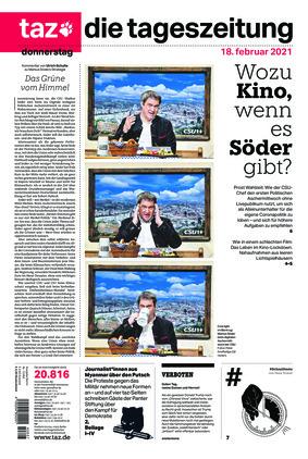 taz.die tageszeitung (18.02.2021)