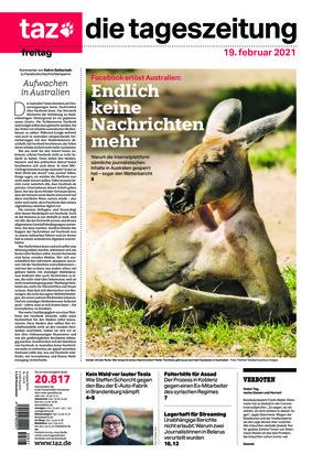 taz.die tageszeitung (19.02.2021)