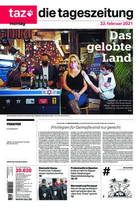 taz.die tageszeitung (22.02.2021)