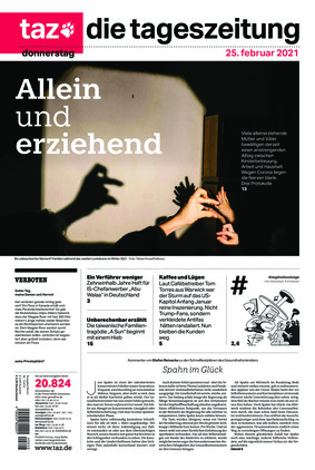 taz.die tageszeitung (25.02.2021)