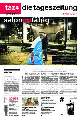 taz.die tageszeitung (04.03.2021)