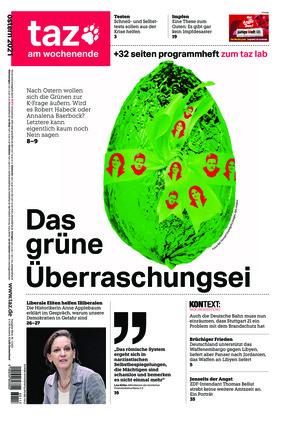 taz.die tageszeitung (03.04.2021)