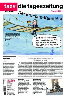taz.die tageszeitung (07.04.2021)