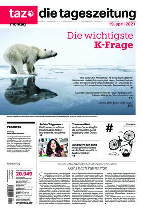 taz.die tageszeitung (19.04.2021)