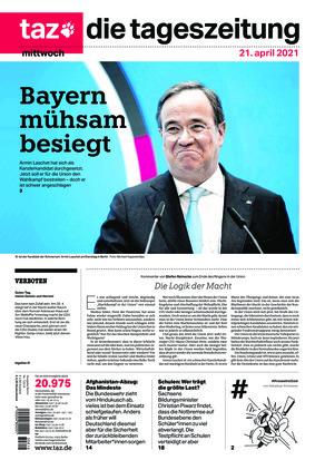 taz.die tageszeitung (21.04.2021)
