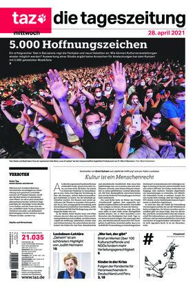 taz.die tageszeitung (28.04.2021)
