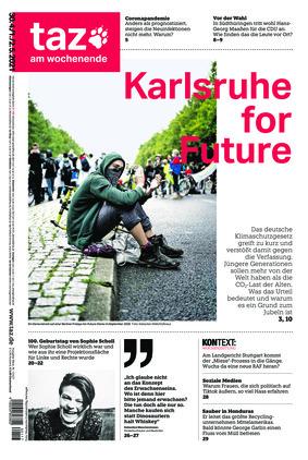 taz.die tageszeitung (30.04.2021)