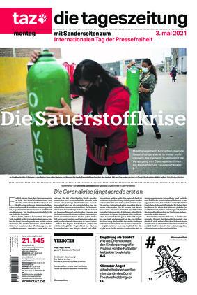 taz.die tageszeitung (03.05.2021)