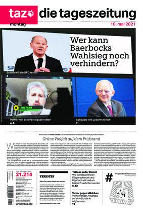 taz.die tageszeitung (10.05.2021)