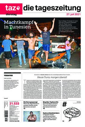 taz.die tageszeitung (27.07.2021)