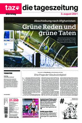 taz.die tageszeitung (03.08.2021)