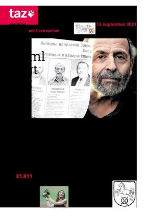 taz.die tageszeitung (13.09.2021)