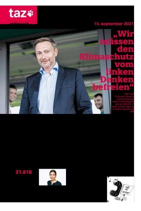 taz.die tageszeitung (15.09.2021)