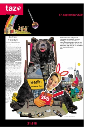 taz.die tageszeitung (17.09.2021)