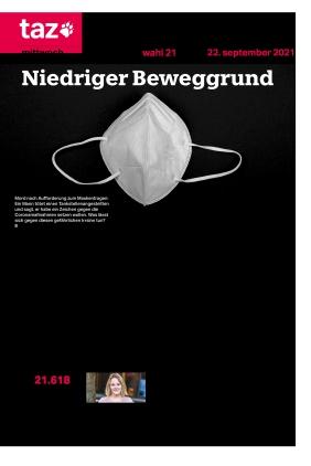 taz.die tageszeitung (22.09.2021)