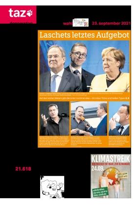 taz.die tageszeitung (23.09.2021)