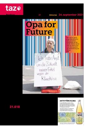 taz.die tageszeitung (24.09.2021)