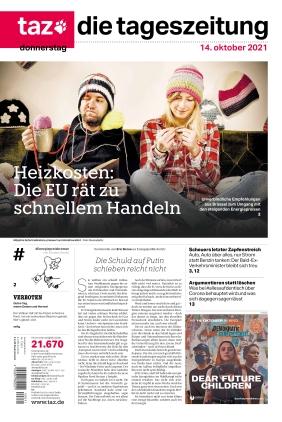 taz.die tageszeitung (14.10.2021)