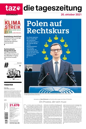 taz.die tageszeitung (20.10.2021)