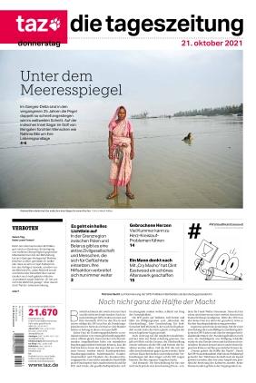 taz.die tageszeitung (21.10.2021)