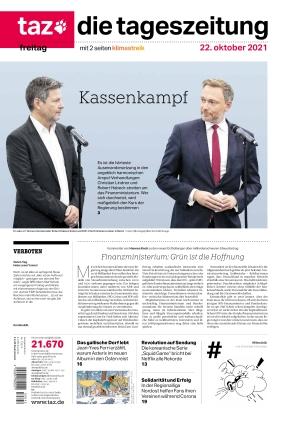 taz.die tageszeitung (22.10.2021)