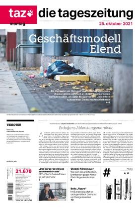 taz.die tageszeitung (25.10.2021)