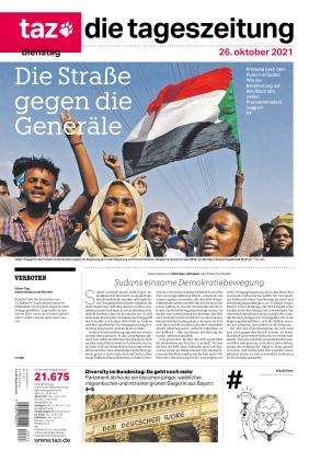 taz.die tageszeitung (26.10.2021)