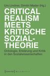 Vergrößerte Darstellung Cover: Critical Realism meets kritische Sozialtheorie. Externe Website (neues Fenster)