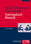 Details zum Titel: Trainingsbuch Rhetorik
