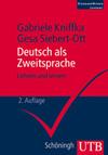 Vergrößerte Darstellung Cover: Deutsch als Zweitsprache. Externe Website (neues Fenster)