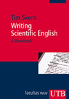 Vergrößerte Darstellung Cover: Writing Scientific English. Externe Website (neues Fenster)
