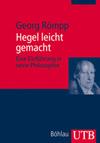 Hegel leicht gemacht