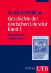 Geschichte der deutschen Literatur, Bd. 1