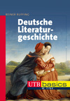Vergrößerte Darstellung Cover: Deutsche Literaturgeschichte. Externe Website (neues Fenster)