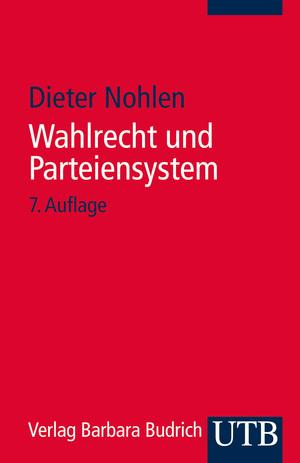 Wahlrecht und Parteiensystem