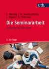Vergrößerte Darstellung Cover: Die Seminararbeit. Externe Website (neues Fenster)