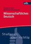 Wissenschaftliches Deutsch
